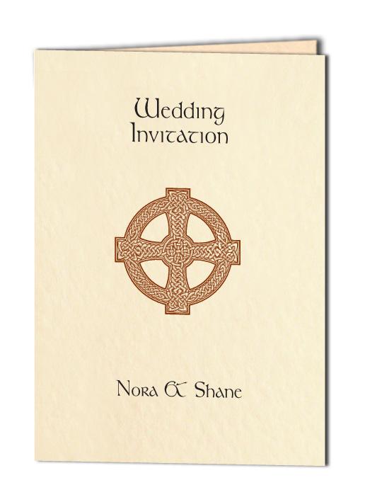 celtic cross wedding invitation - Celtic Wedding Invitations